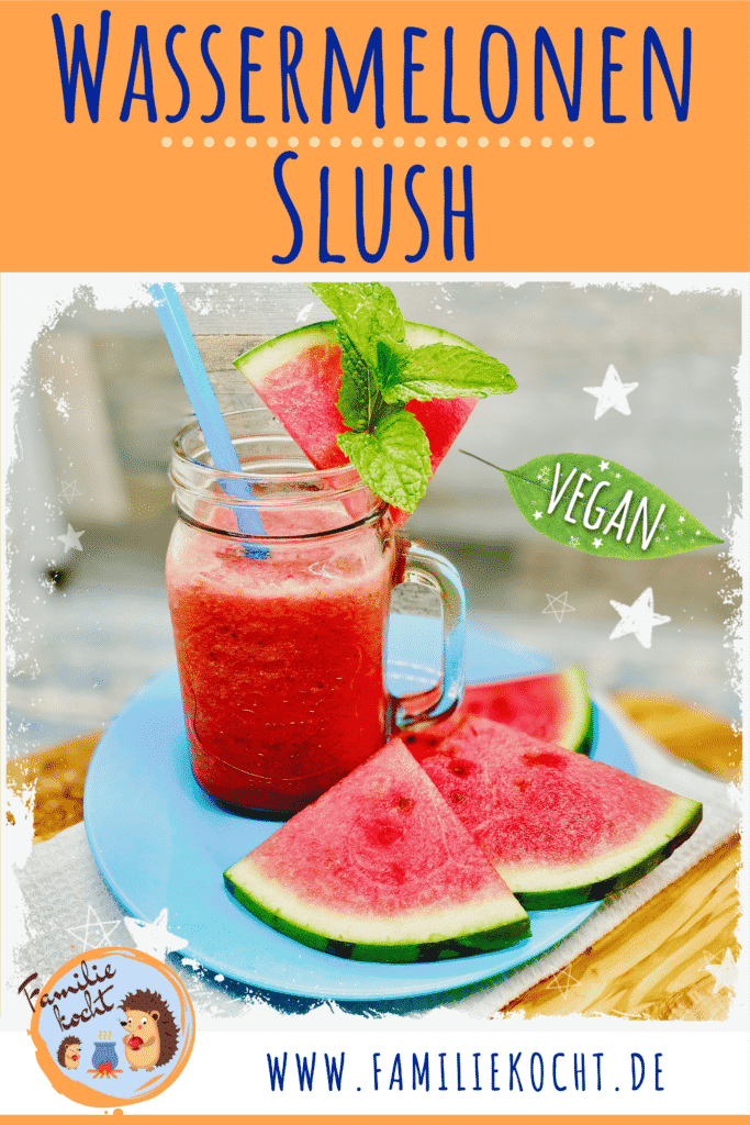 Wassermelonen Slush Pin