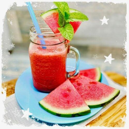 Wassermelonen Slush Rezept