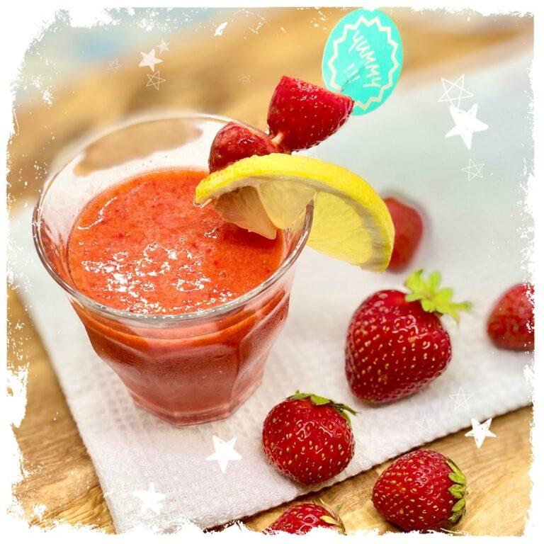 Erdbeer Kindercocktail Virgin Erdbeer Daiquiri Rezept