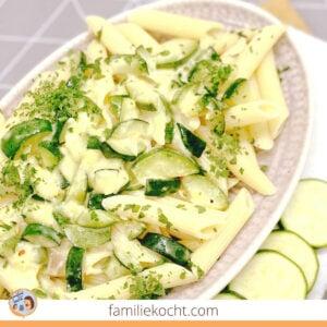 Zucchini Sahne Soße
