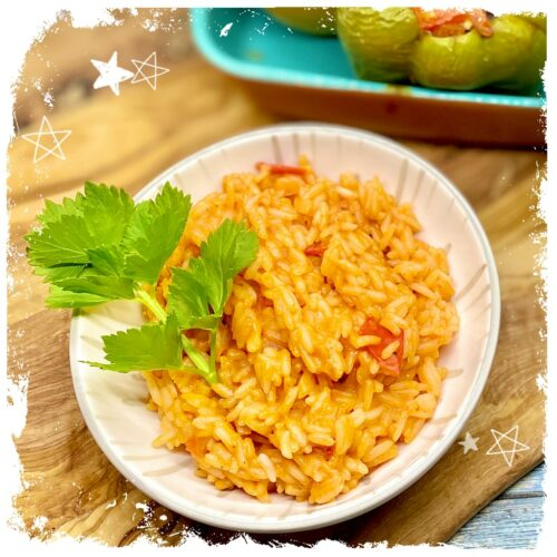 Griechischer Tomatenreis Rezept