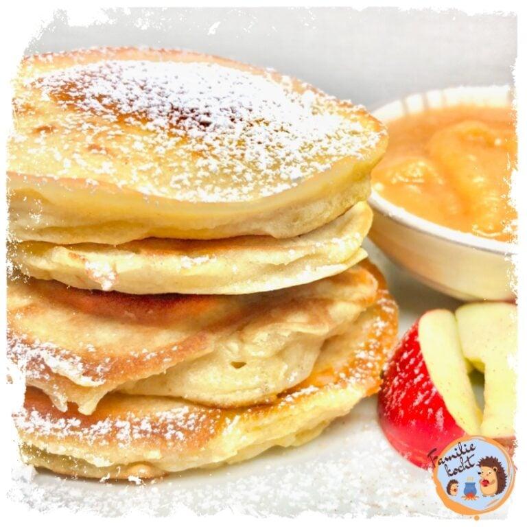 Poffertjes (Kleine Pfannkuchen) ⬤ so lecker!