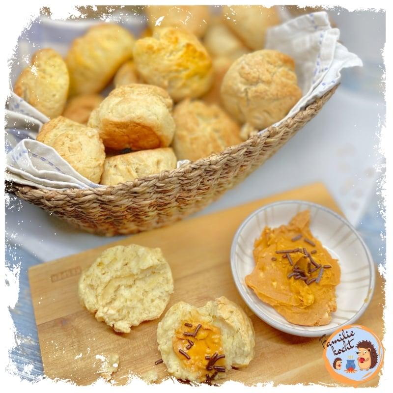 Vegane Quark-Ölteig Brötchen selbstgemacht ♥ frisch und lecker