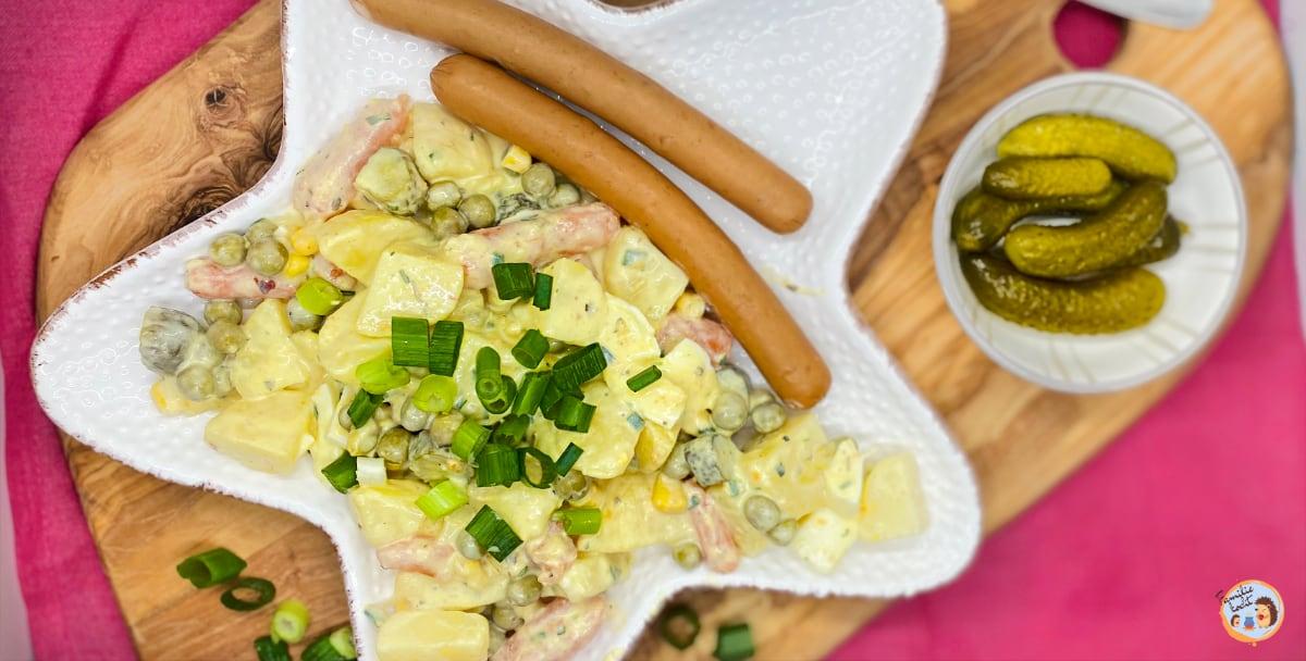 Vegi Würstchen mit Kartoffelsalat