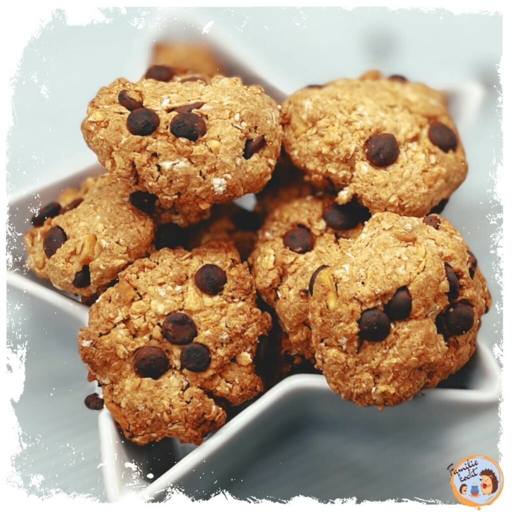 Salted Caramel Hafercookies vegan Rezept