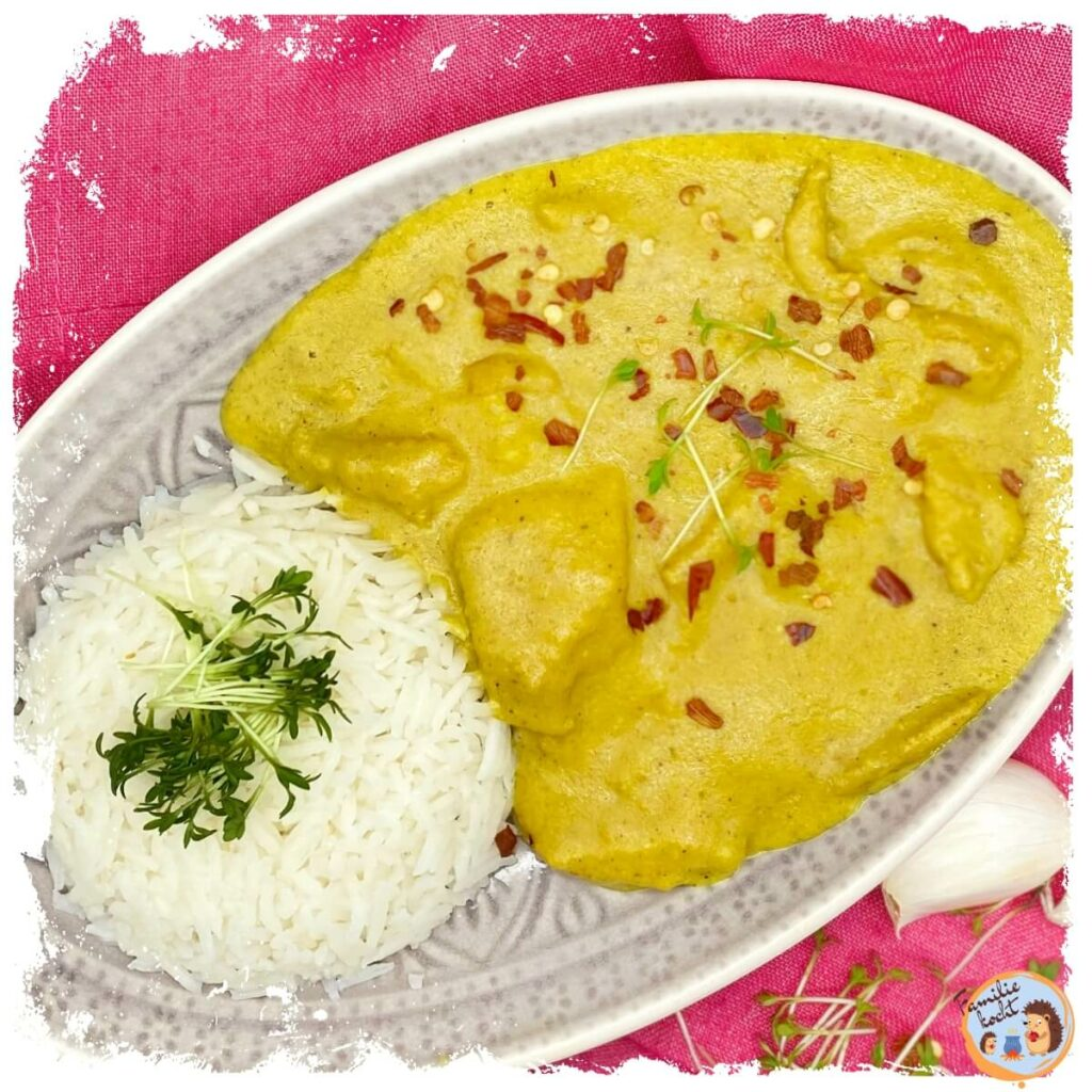 Chicken Korma vegetarisch