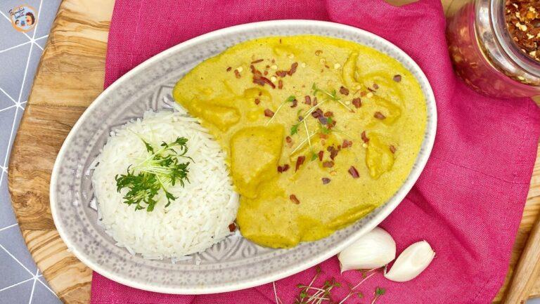 vegetarisches Chicken Korma