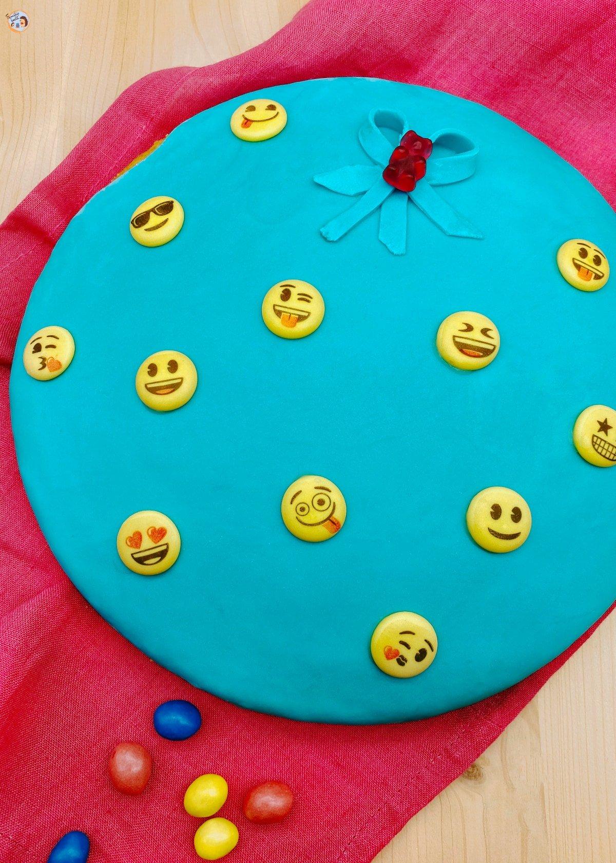 Emoji Kuchen (Zitronenkuchen vegan) 2