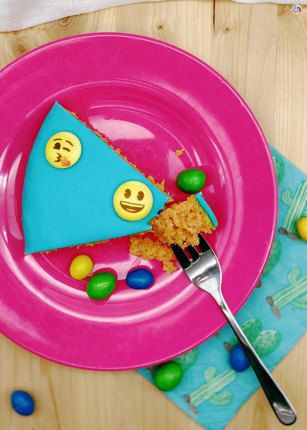 Emoji Kuchen (Zitronenkuchen vegan) 1