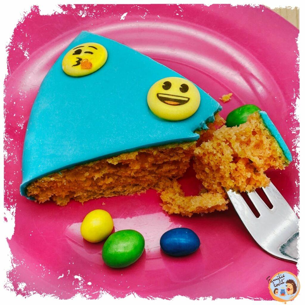Emoji Kuchen (veganer Zitronenkuchen)