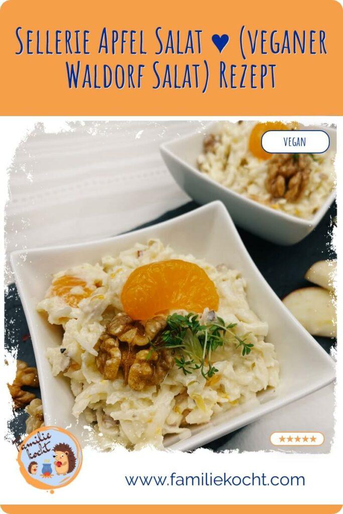 sellerie apfel salat veganer waldorf salat rezept