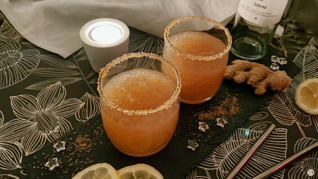 Ingwer Sorbet Drink