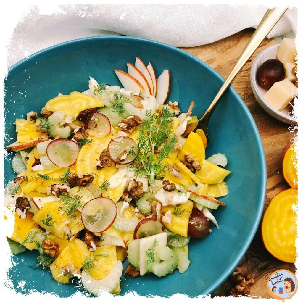 Gelbe Bete Salat