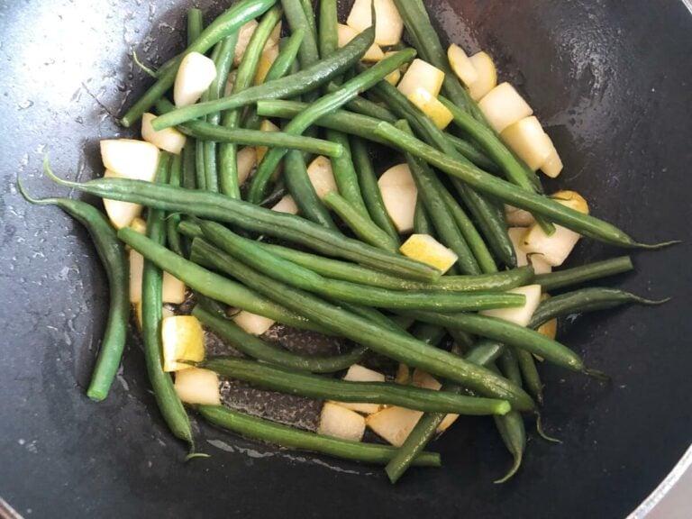 Grüne Bohnen Pfanne Rezept