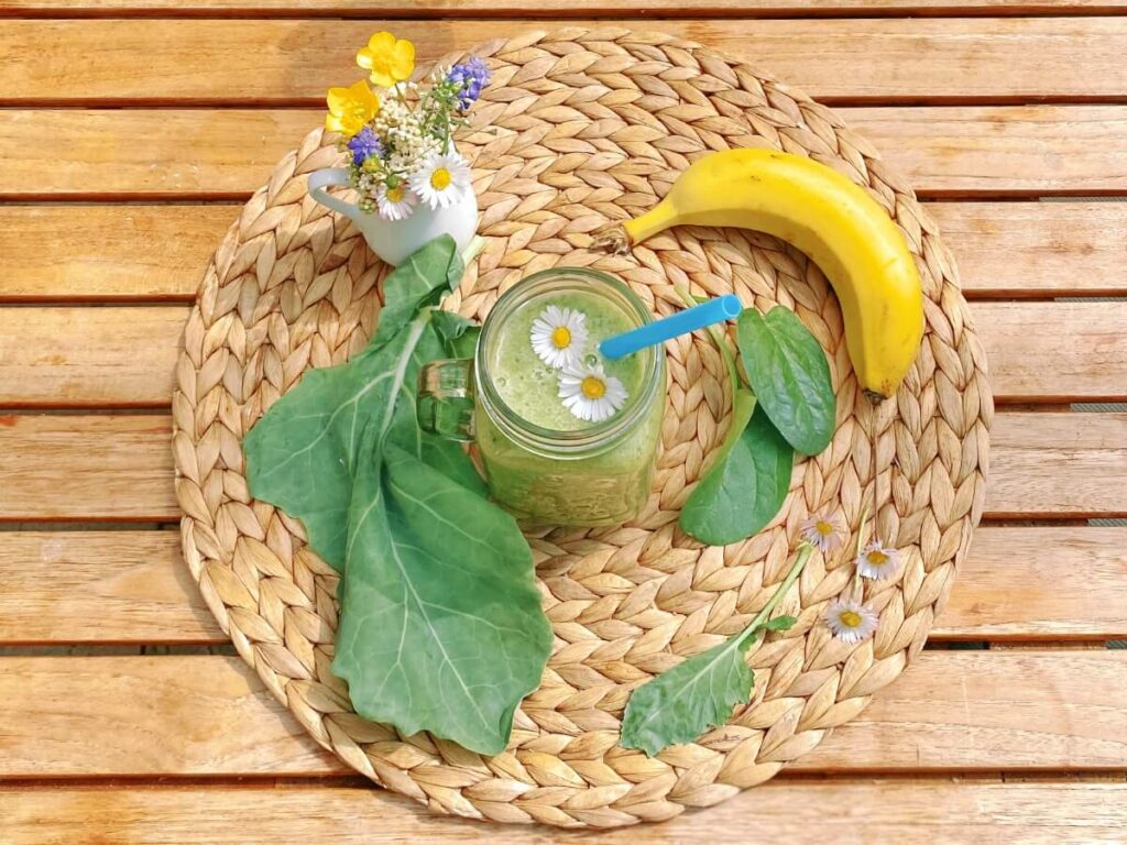 Kohlrabi Blätter Smoothie Rezept
