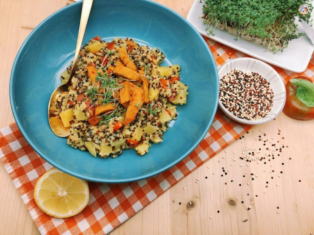 Quinoa Pfanne