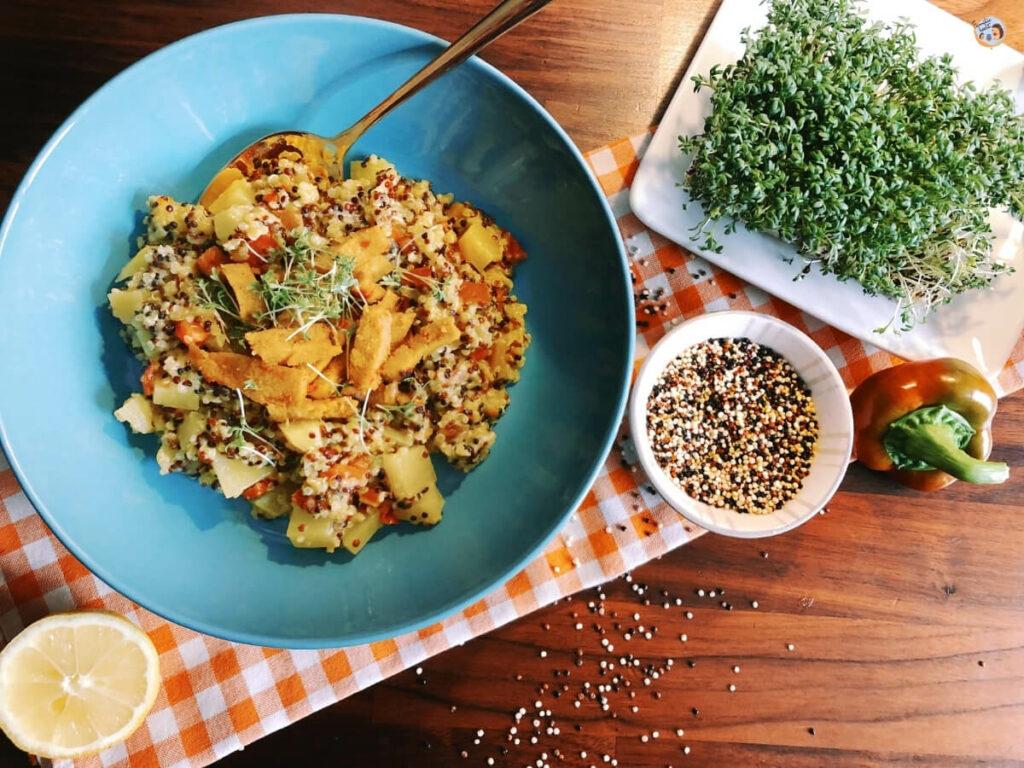 Quinoa Pfanne Rezept