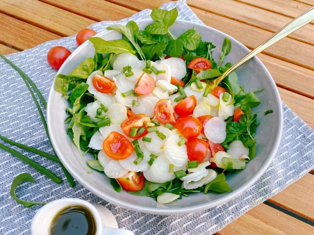 Roher Spargel Salat