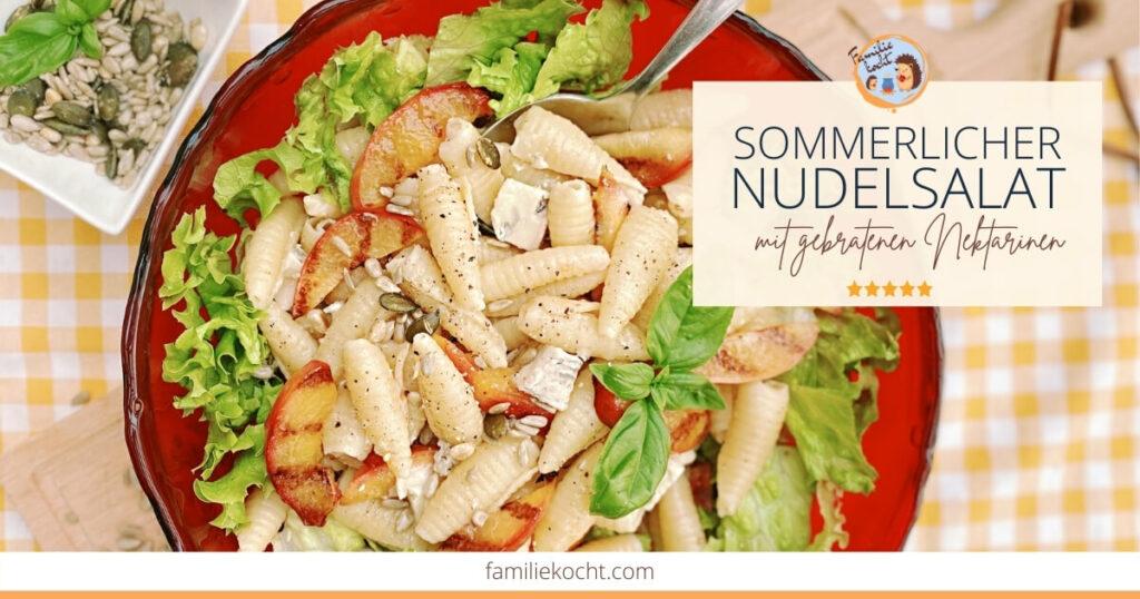 Sommerlicher Nudelsalat og