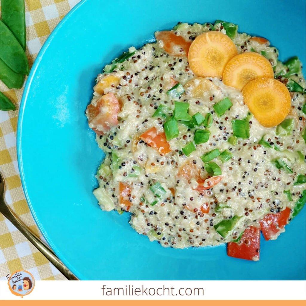 Quinoa Wok