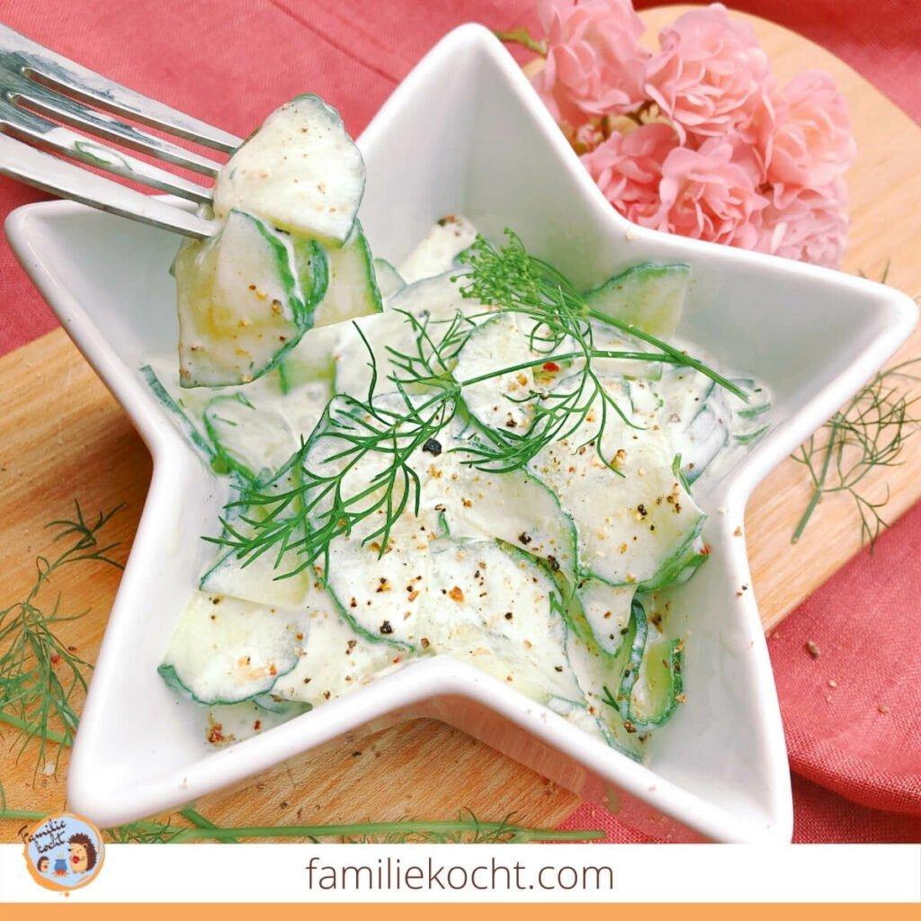 Der beste Gurkensalat