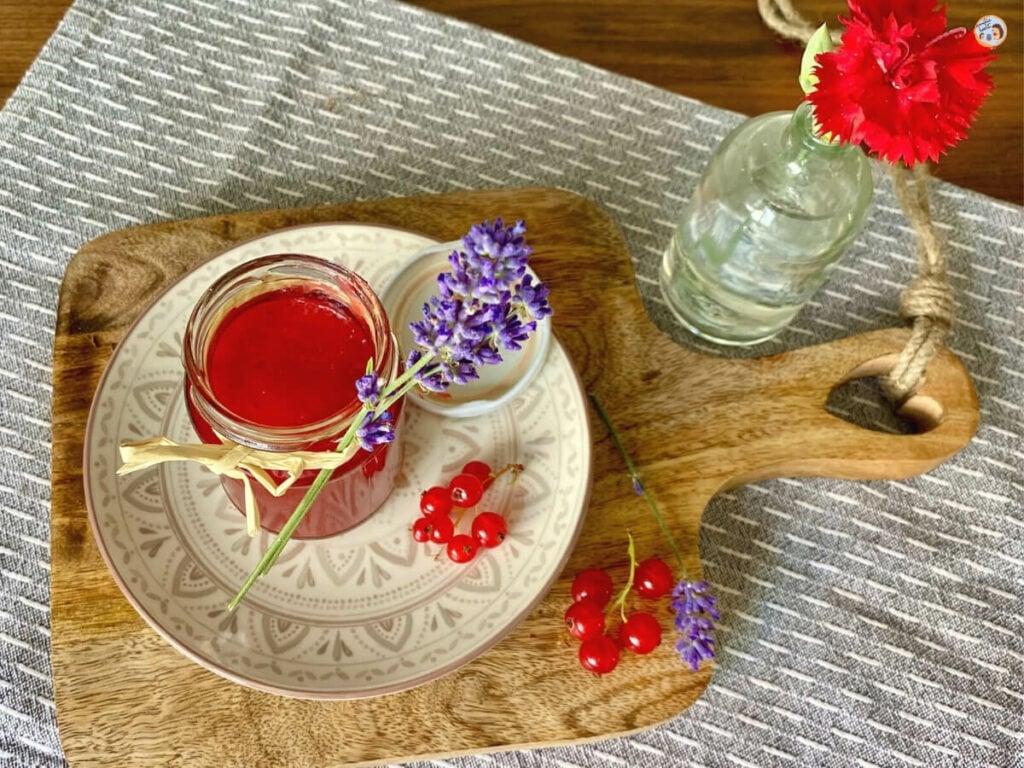 Johannisbeer Lavendel Marmelade Rezept