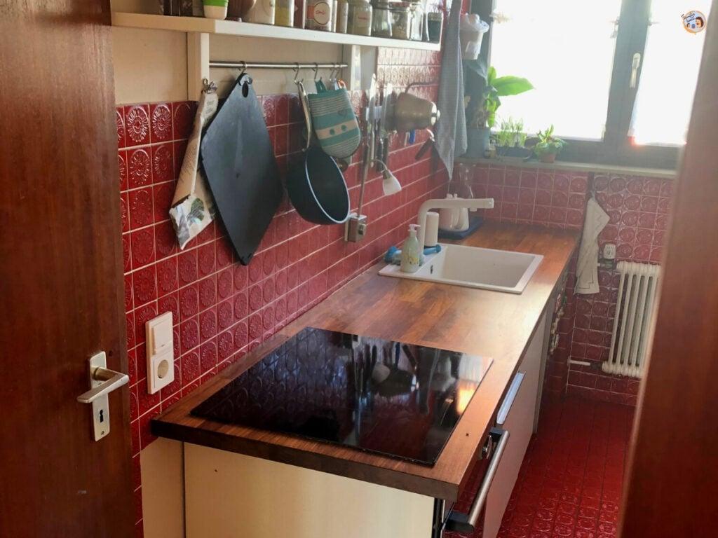 Küche Echtholzarbeitsplatte versiegeln