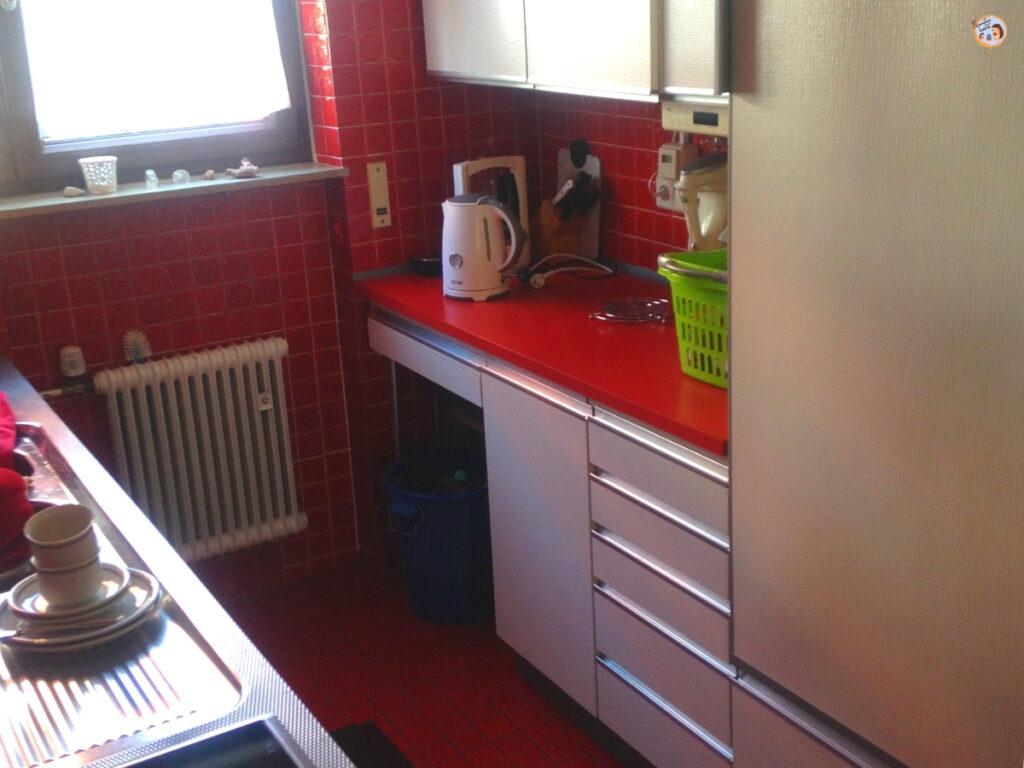 Küchen Makeover vorher