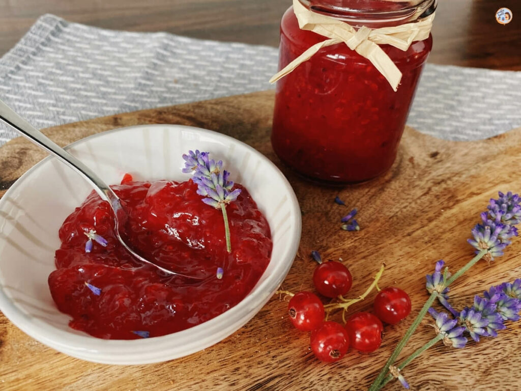 Johannisbeer Lavendel Marmelade 1