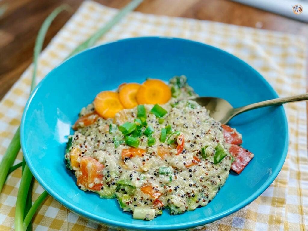 Bunter Quinoa Wok mit Kokosmilch 1