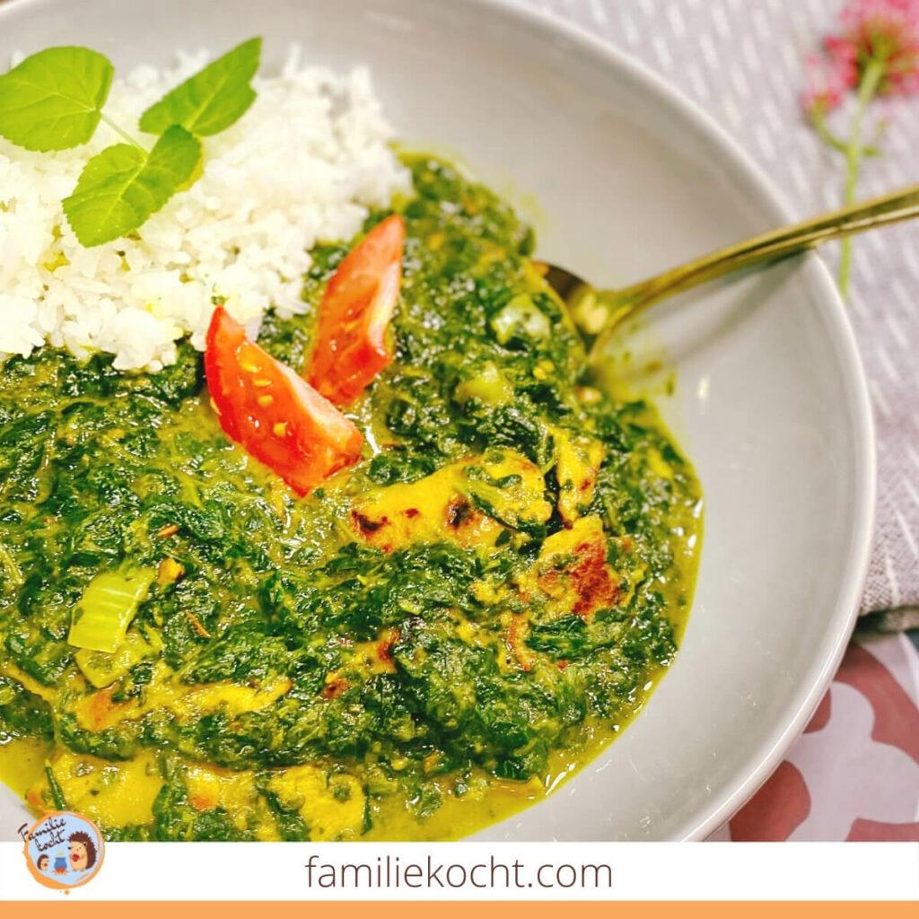 Chicken Palak