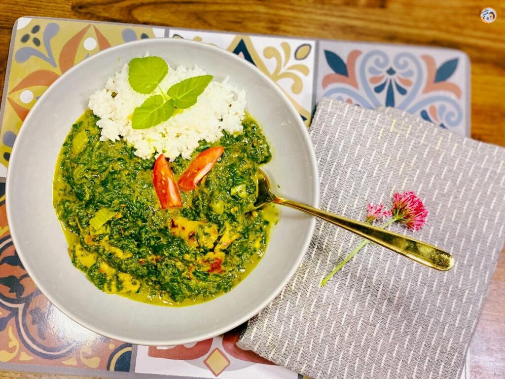 Chicken Palak vegetarisch