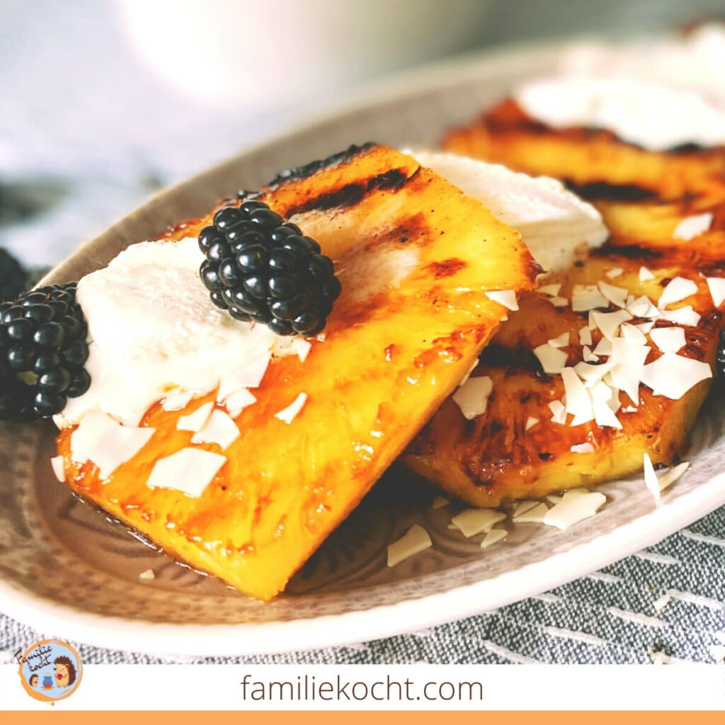 Gegrillte Ananas