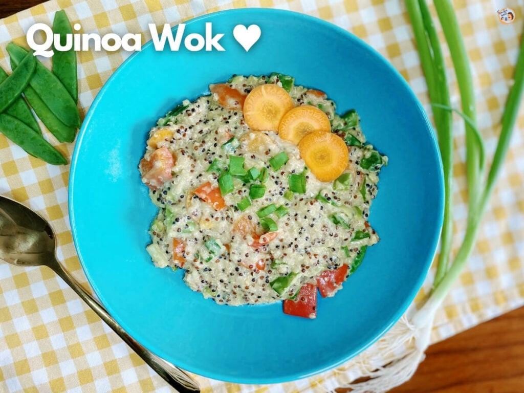 Quinoa Wok Rezept