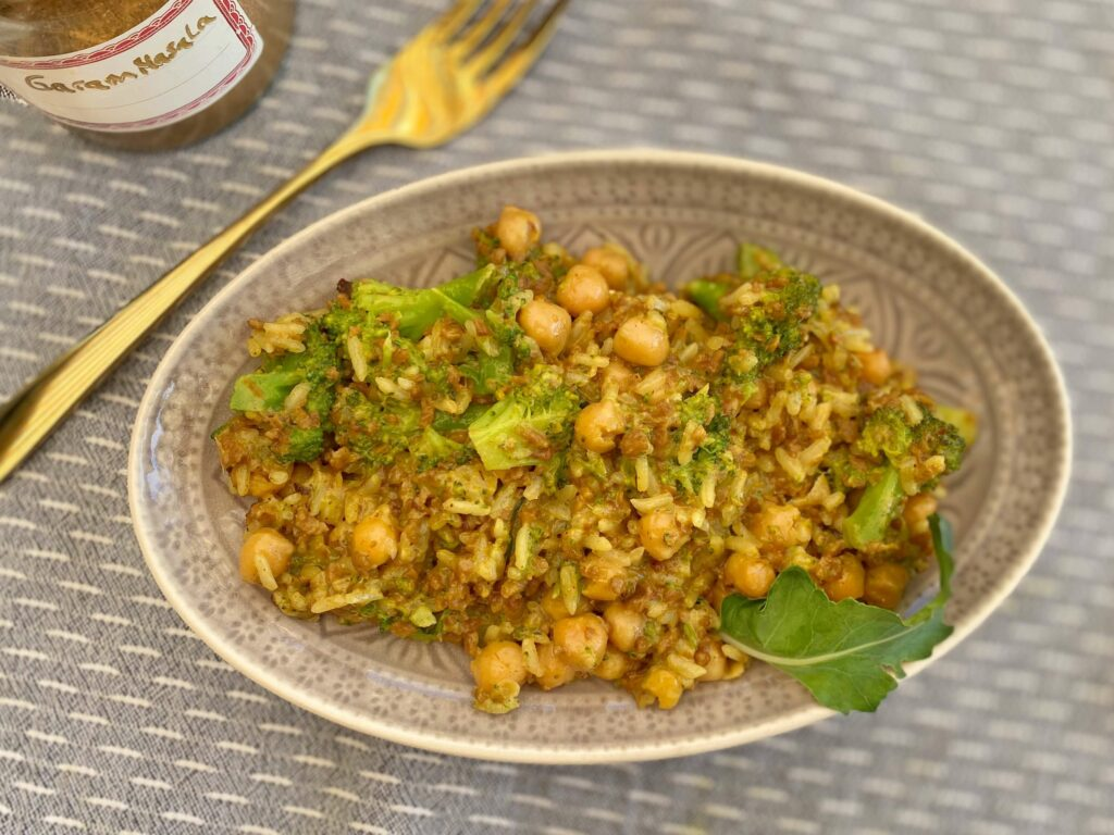 Reispfanne mit Gemüse Rezept