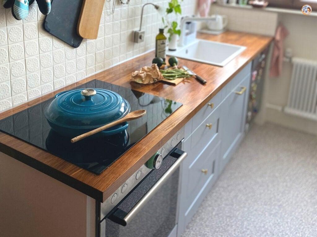 Unser Reihenhaus Küchen Makeover - Küche verschönern mit kleinem Budget 2