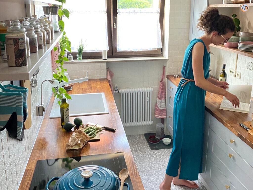 Unser Reihenhaus Küchen Makeover - Küche verschönern mit kleinem Budget 11