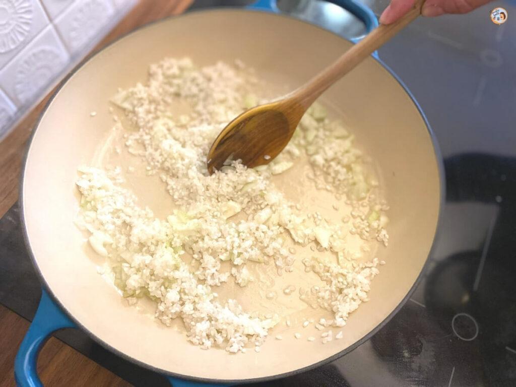 Risotto Reis kochen